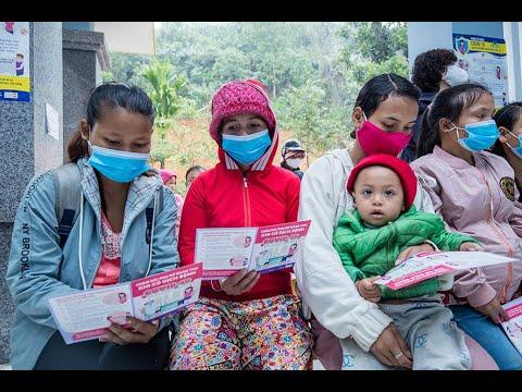 Hỗ trợ của UNFPA về sức khỏe bà mẹ trong thời kỳ COVID-19
