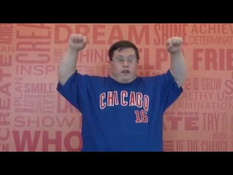 Veure vídeo Down Syndrome: Chris is Pumped for the 5k!