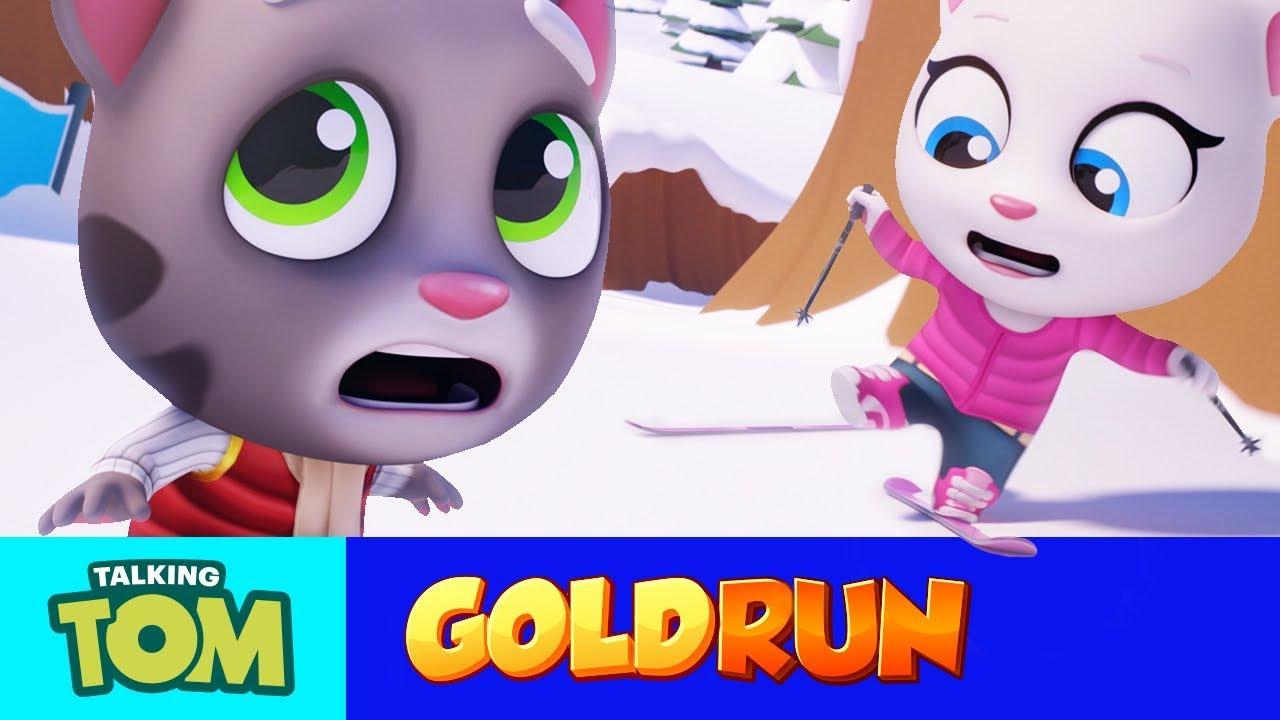Resultado de imagem para Talking Tom Gold Run