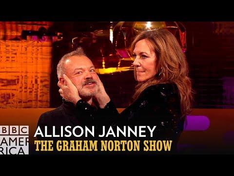 Allison Janney Reveals Meryl Streep's Kissing Technique  - The Graham Norton Show