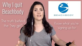 """WHY I QUIT BEACHBODY 