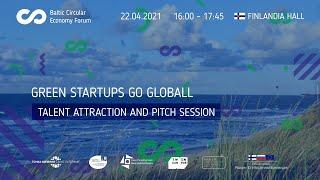 Green StartUps Go Global