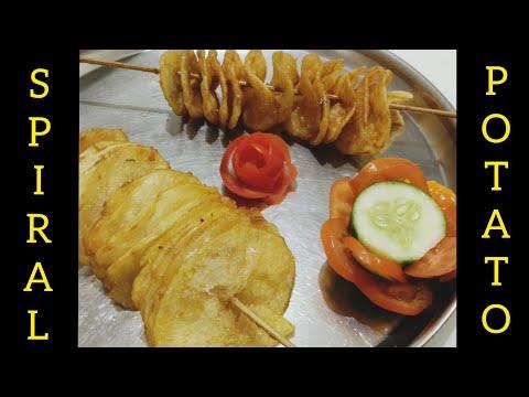 Spiral Potato | Potato Tornado – Snacks recipe | Easy Home Cooking Recipe | Jumbo Station