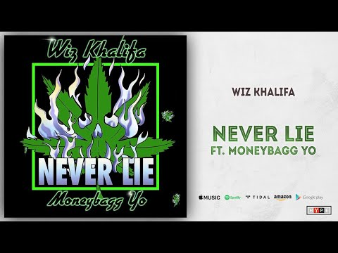 "Wiz Khalifa – ""Never Lie"" Ft. Moneybagg Yo"