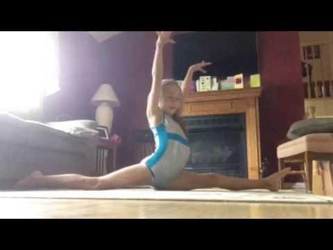 My gymnastics skills