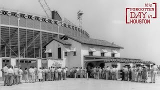 Buff Stadium Sold to Salvage Company - This Forgotten Day in Houston