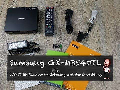 Samsung GX-MB540TL | #1 - DVB-T2 HD Receiver - Unboxing und Einrichtung