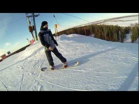 Видео: Видео горнолыжного курорта Каменный Мыс в Ханты-Мансийский АО
