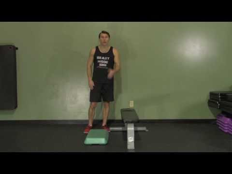 Single-Leg Donkey Calf Raise