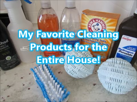 My Favorite Natural Cleaning Products for the Entire House