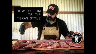 Victorian's Barbecue – How to Trim Tri Tip (Texas Style)