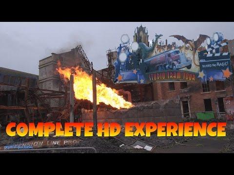 Studio Tram Tour: Behind The Magic On-ride (Complete HD Experience) Walt Disney Studios Paris