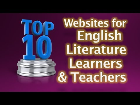 Top 10 websites for English Literature Learners and Teachers