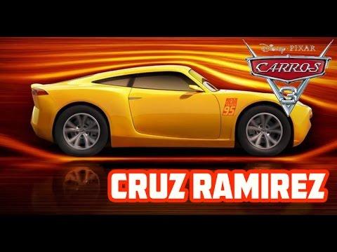 Carros 3 - Cruz Ramirez (Apresentação nova personagem)