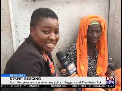 Street Begging - News Desk on JoyNews (30-10-18)