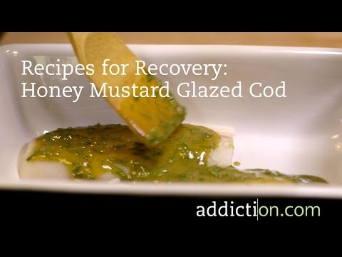Recipes for Recovery: Honey Mustard Glazed Cod
