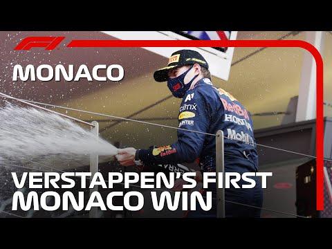 マックス・フェルスタッペンが優勝 F1モナコGP 決勝レースハイライト動画