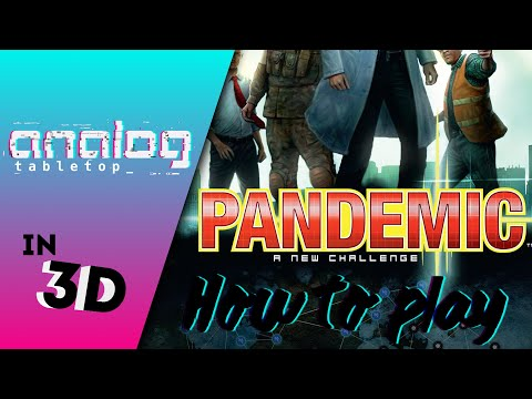 How to play Pandemic: A 3D Animated Series
