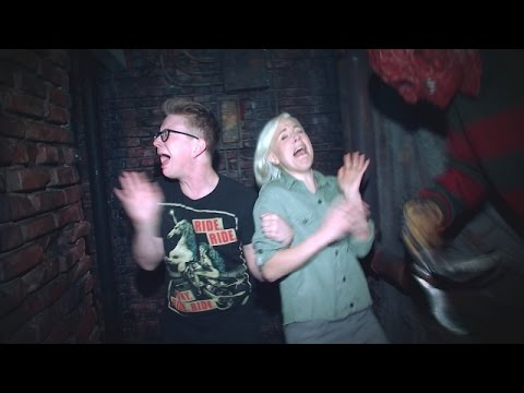 'The Tyler Oakley Show': A Haunted House with Hannah Hart (видео)