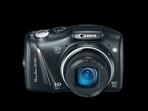 Canon Powershot Sx150 IS Tutorial Video | Hands On Review Mp3