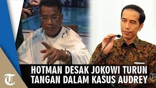 Hotman Paris Desak Jokowi Turun Tangan soal Kasus Audrey,