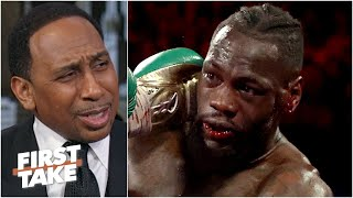 Stephen A. reacts to Tyson Fury vs. Deontay Wilder II: I've been having nightmares! | First Take
