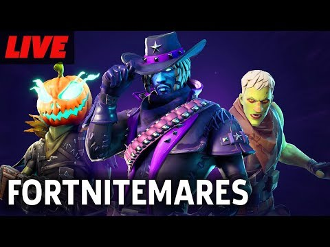 Fortnite's Halloween Event Fortnitemares Gameplay Live