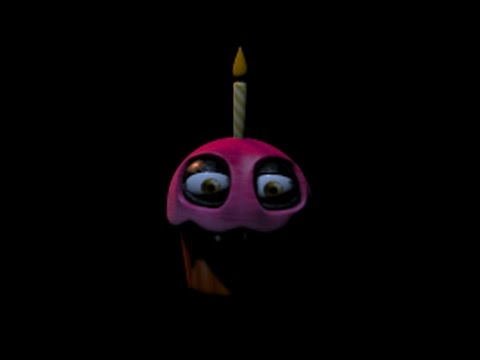 Five Nights at Freddy's 2: CUPCAKE BLINKS! Min 1:37
