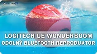 Logitech Ultimate Ears WONDERBOOM: Odolný outdoorový reproduktor! - AlzaTech #575