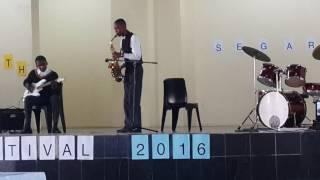 Mpho Khanyi and Kabelo Phali play Jonathan Butler 'Many Faces'