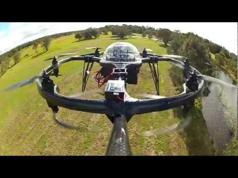 UAV Drones Will Patrol Queensland Beaches This Summer