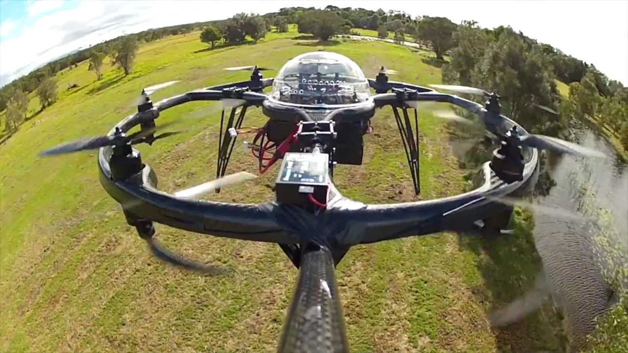 The Aerobot Ring Is The Australian-Made, Unmanned Helicopter Of Your Dreams