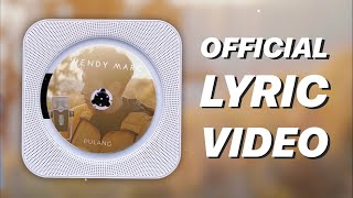 Download lagu Wendy Marc Pulang Mp3
