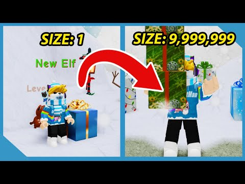 I Bought Infinite Strength And Got The Biggest Present In Roblox Gift Simulator