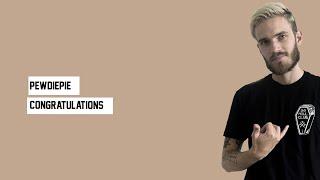 t series pewdiepie lyrics - मुफ्त ऑनलाइन