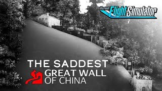 Saddest Great Wall Of China and Can You Land Inside a Soccer Stadium? - Flight Simulator Adventures