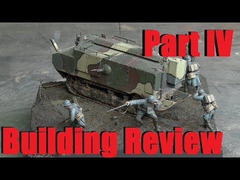 Building review: Hobby Boss Schneider CA in 1/35 scale Part IV