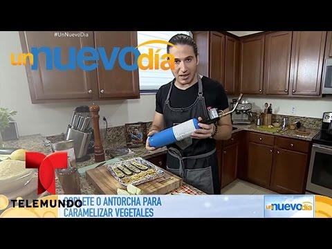 Consejos de cocina: Cómo usar un soplete o antorcha | Un Nuevo Día | Telemundo