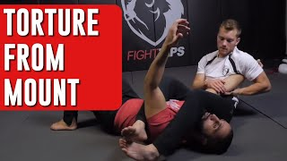Torture in Mount: Firas's Double Armbar