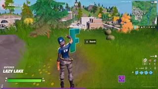 """WHERE TO FIND THE LETTER """"F"""" IN FORTNITE CHAPTER 2 SEASON 1 (New World Challenges)"""