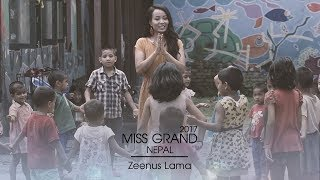 Zeenus Lama Miss Grand Nepal 2017 Introduction Video