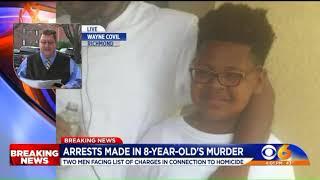 Men arrested for killing 8-year-old boy