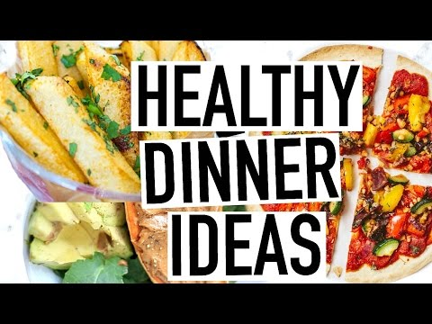Video HEALTHY DINNER IDEAS! Healthy Summer Recipes!