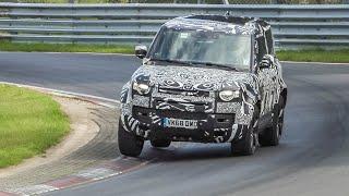 2021 Land Rover Defender SVX V8 continues testing HARD on the Nürburgring Nordschleife!