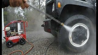 Buying a hot water pressure washer