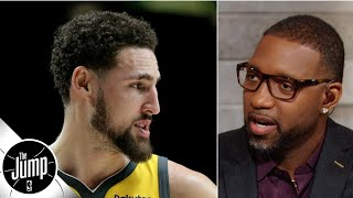 Tracy McGrady doesn't think Klay Thompson should sit out the season, unless... | The Jump