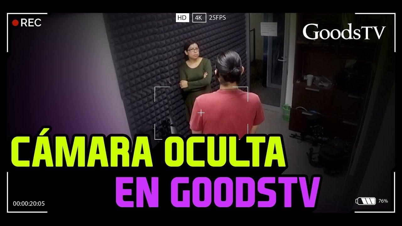 ¡CÁMARA OCULTA en las OFICINAS de GOODSTV! / ¡BROMA PESADA!
