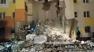 Pod Biełgorodem doszło do wybuchu gazu w budynku mieszkalnym