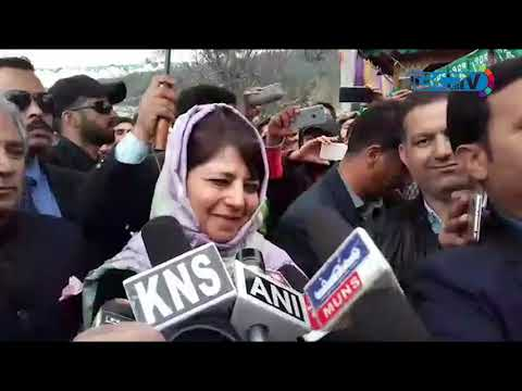 No one can force their will on us, roads belong to Kashmiris: Mehbooba Mufti