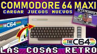 COMMODORE 64 MAXI | Juegos NUEVOS y actualización FIRMWARE | The C64 MAXI